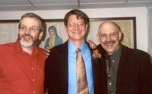 Ed Isenberg, Andy Kanakares and D. Ezra Sidran - The Three Amigos.