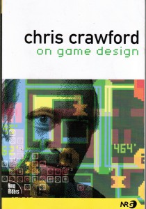 """My well-read copy of Chris Crawford's, """"On Game Design."""" It can be ordered here."""